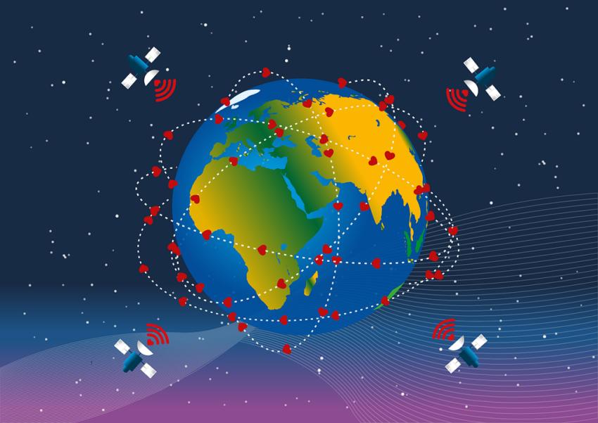 Starlink Satelliten Live Heute