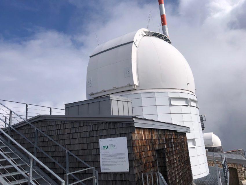 Teleskop der LMU auf dem Wendelstein